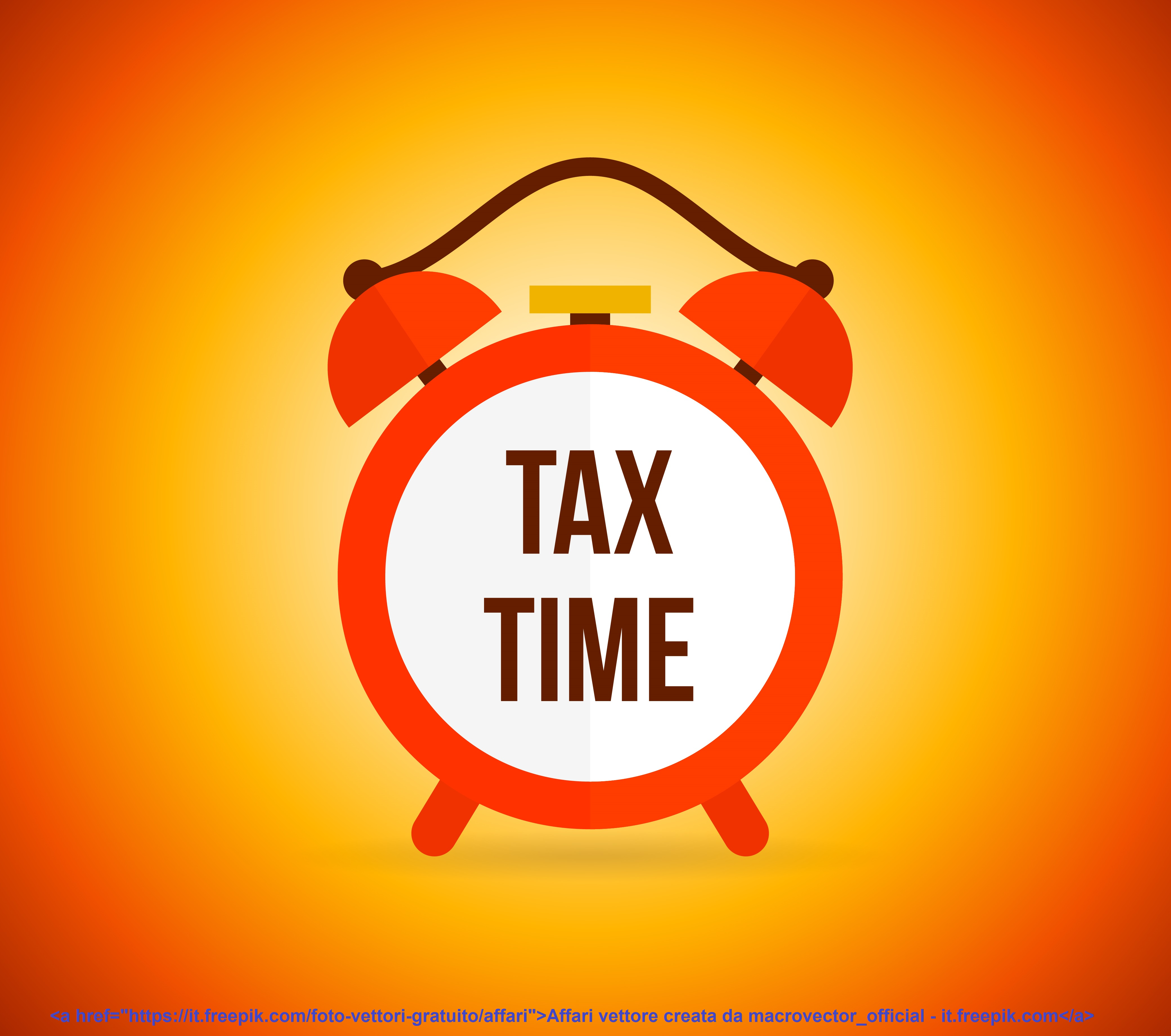 Tax alarm clock