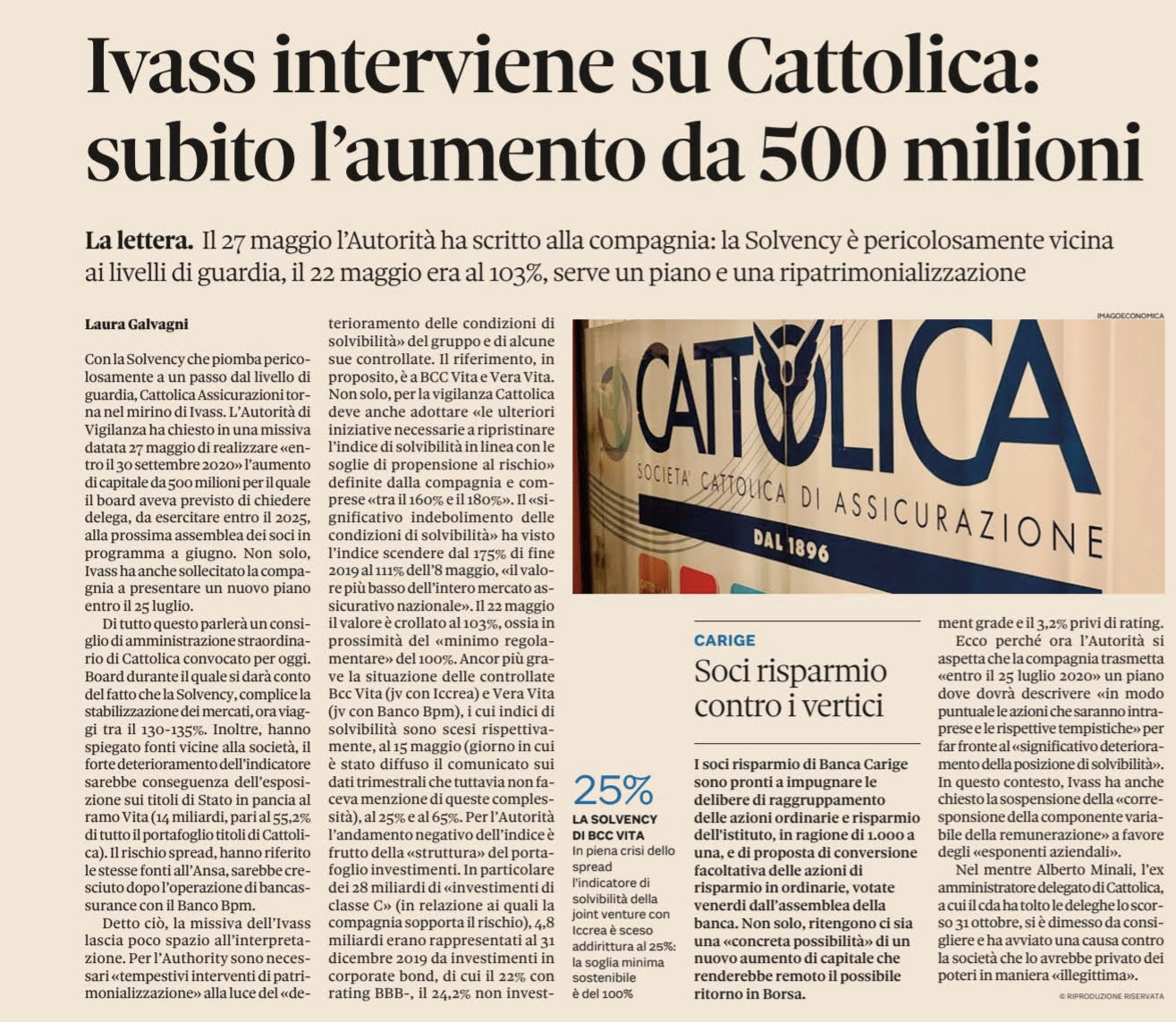 solvency-cattolica