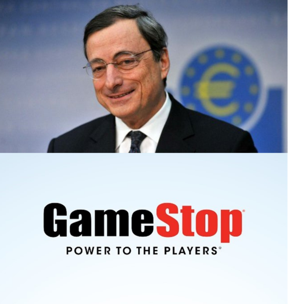 Draghi gamestop